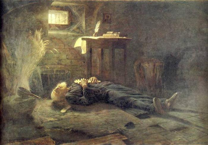 А. Новоскольцев. Смерть Патриарха Ермогена.jpg