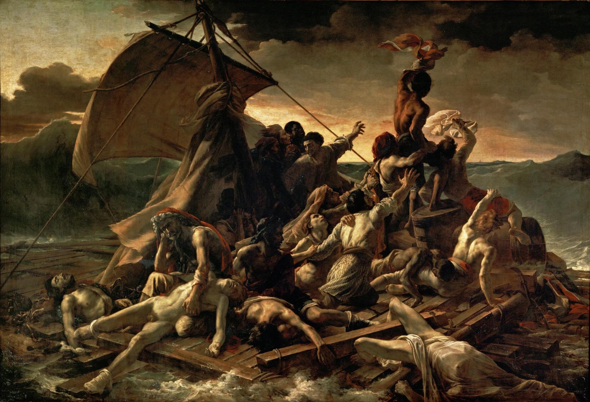 Живопись_Теодор-Жерико_Плот-«Медузы»-1819.jpg