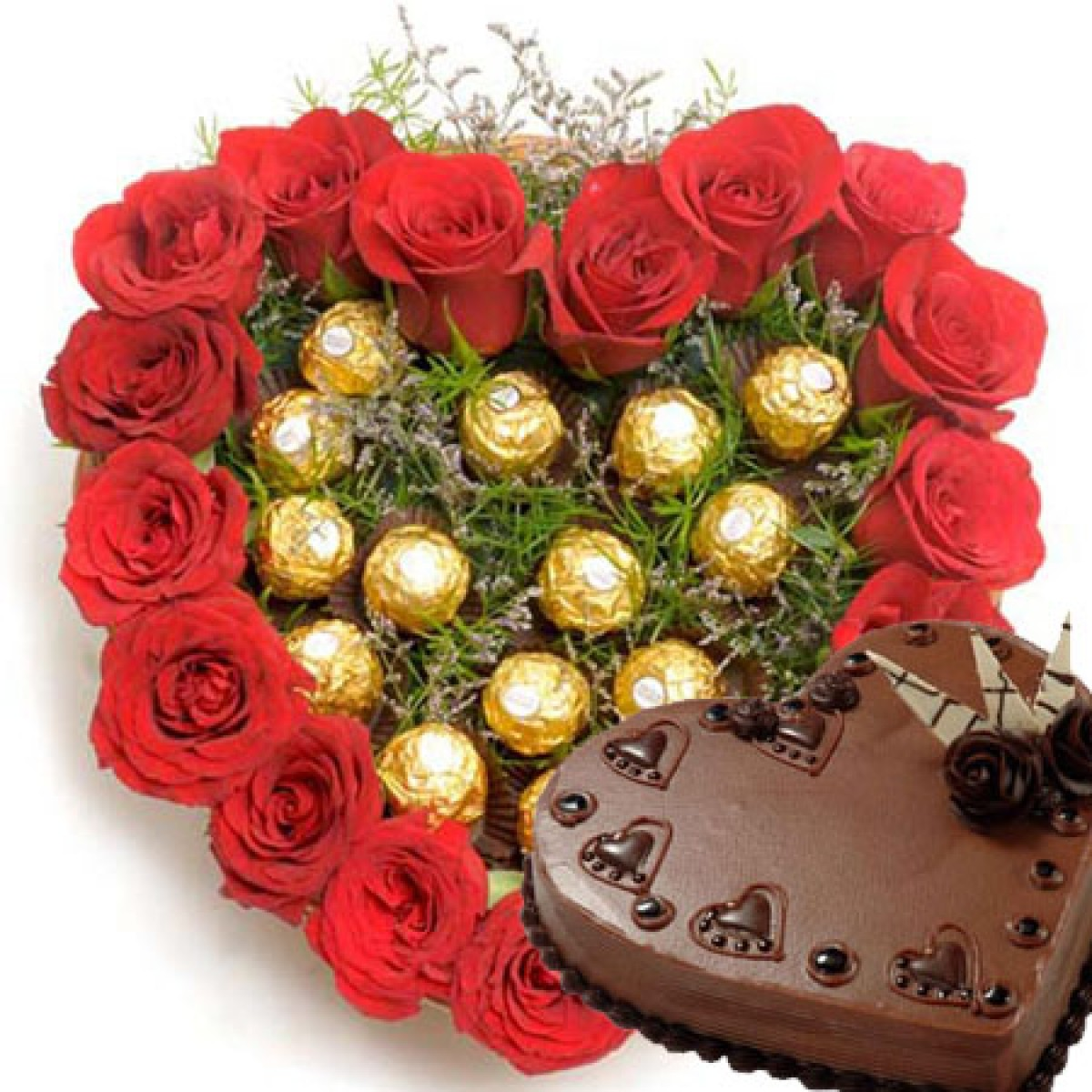 16-roses-with-16pc-ferrero-arrangement-heart-cake.jpg
