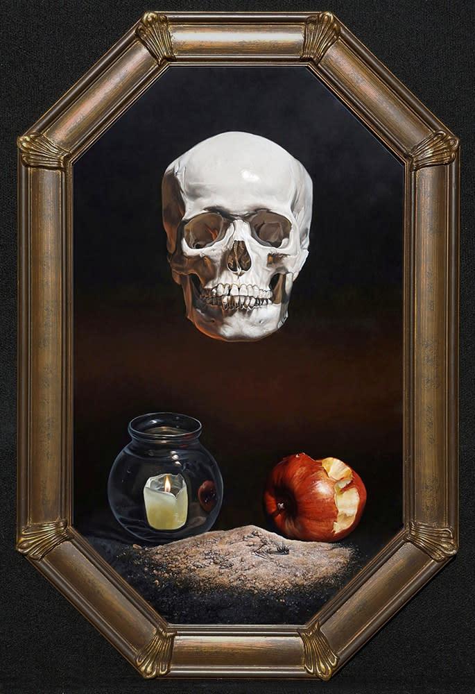 Kevin_Grass-Memento_Mori_framed-Acrylic_on_panel_painting_kpifjv.jpg