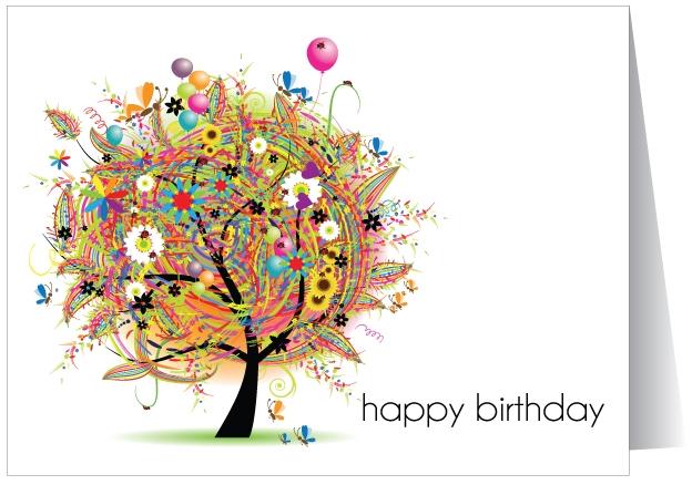 Креативные открытки с днем рождения
