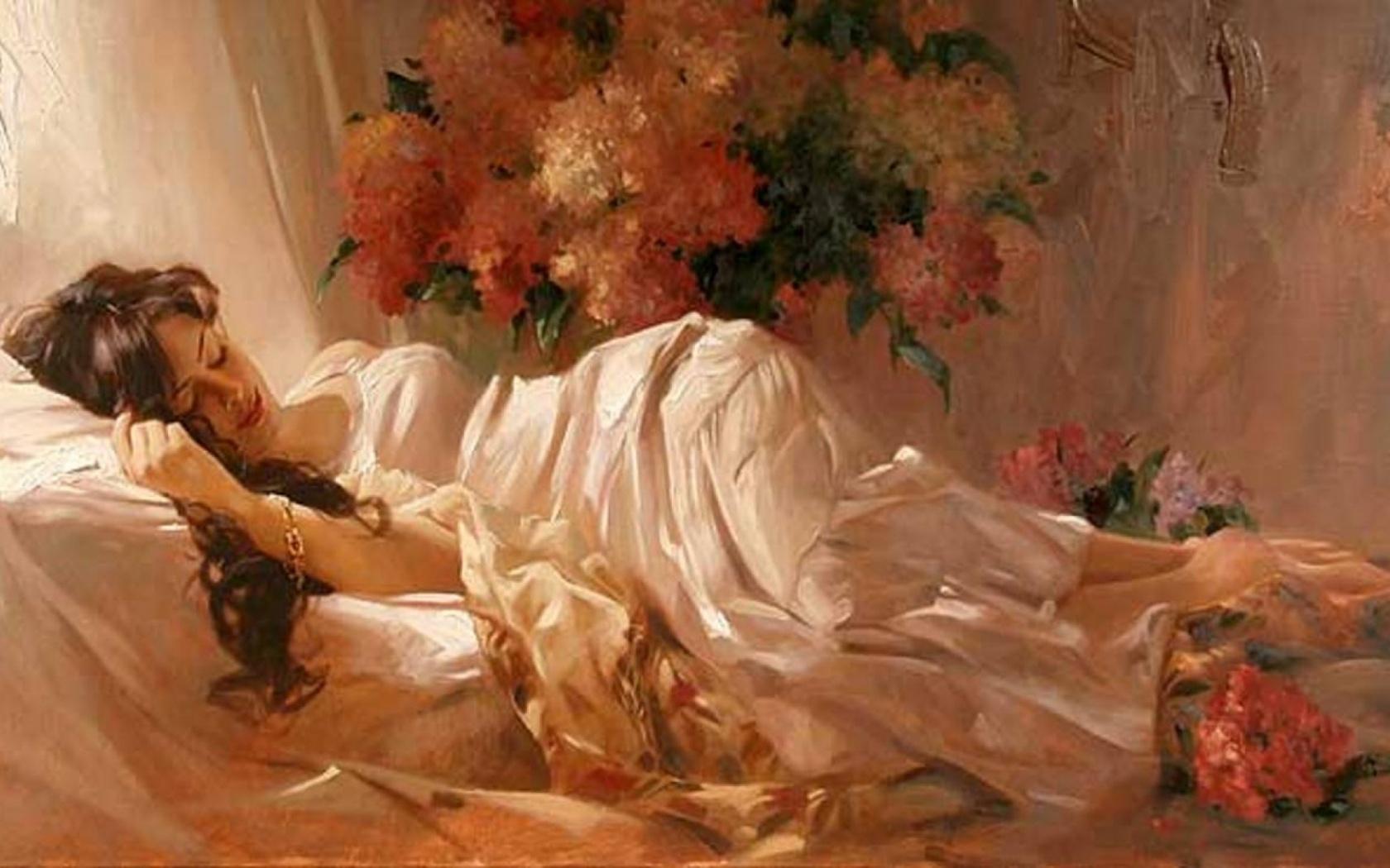 ws_Woman_Bed_Sleeping_Flowers_1680x1050.jpg