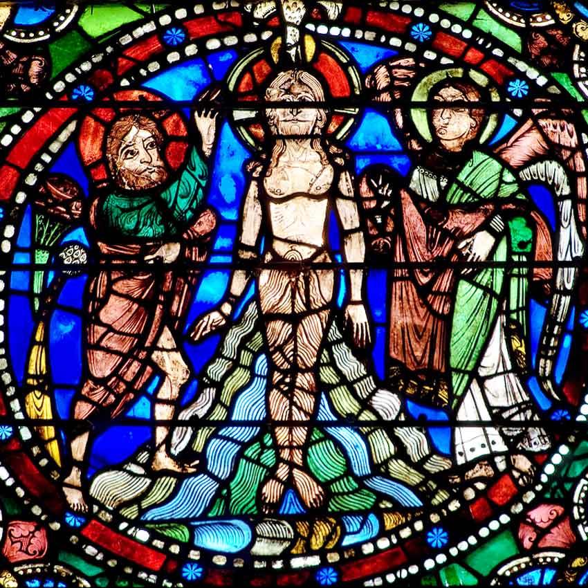 XIII  век  Крещение Господне.jpg